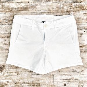AEO Stretch Jean American Eagle White Jean Shorts